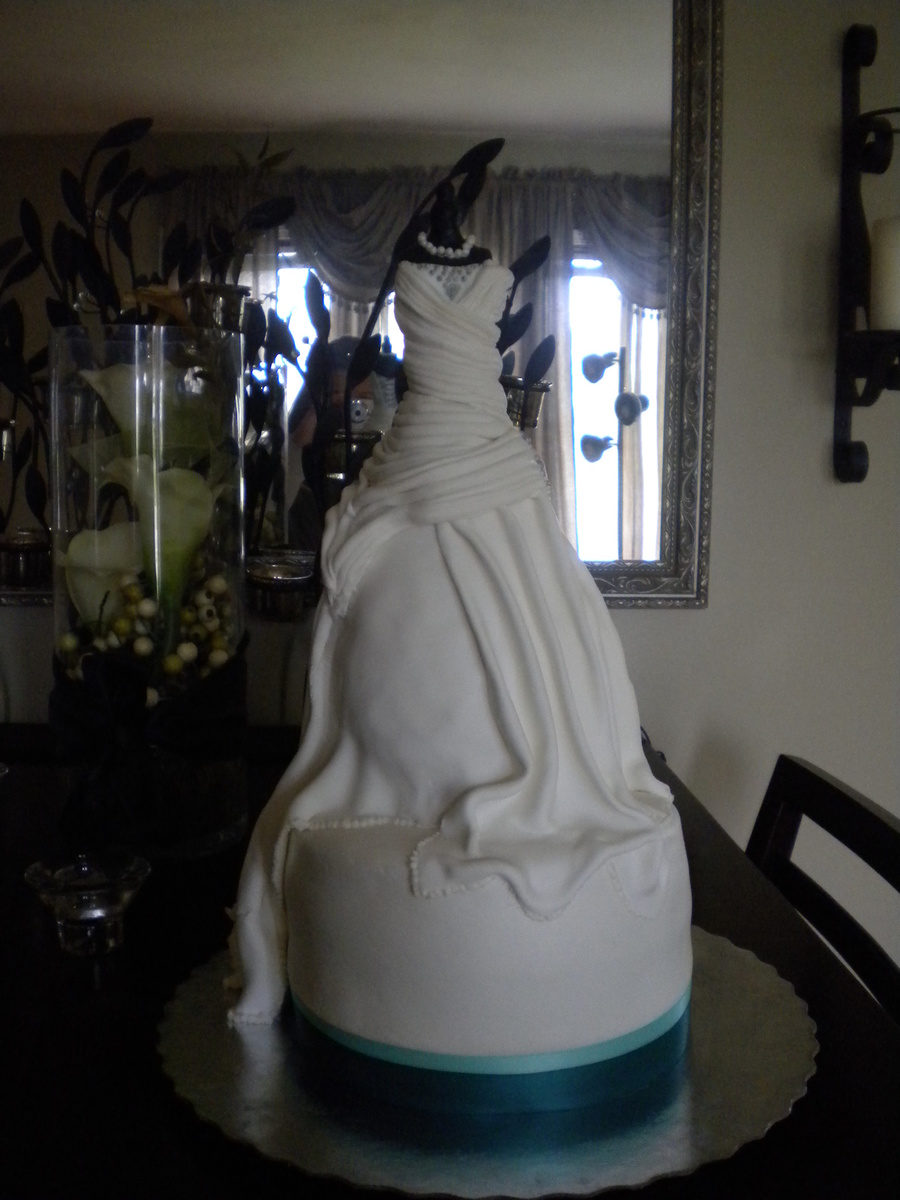 Bridal Gown Dress on Cake Central