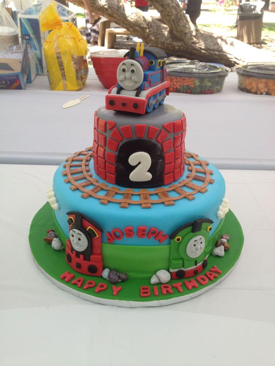Thomas The Train Fondant Cakecentral Com