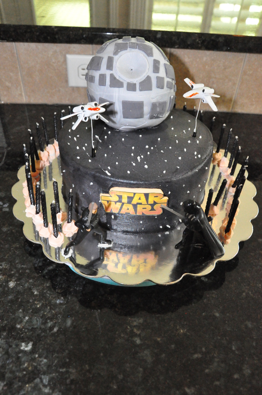 Star Wars Cake For 41st Birthday Cakecentral Com