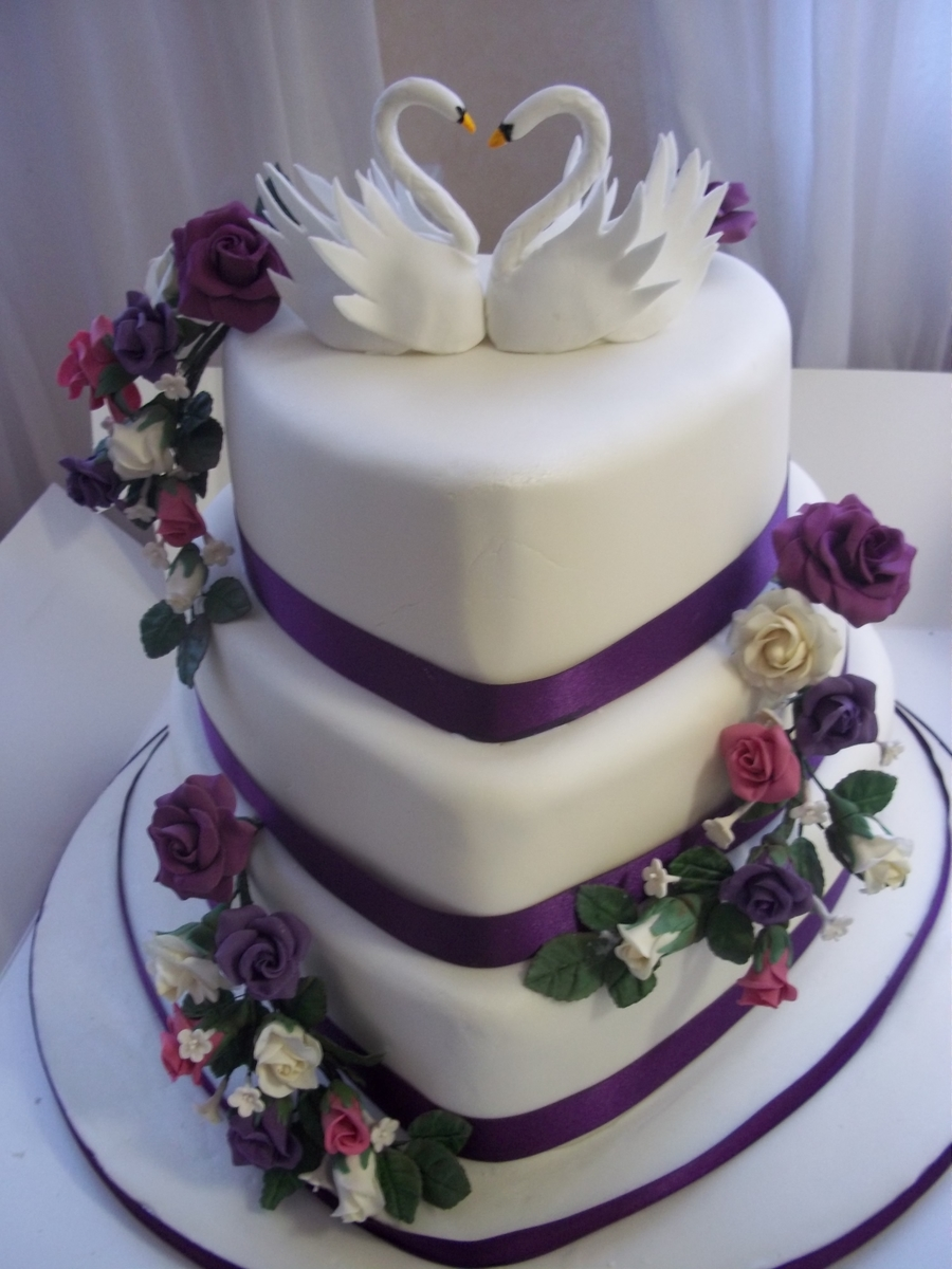 heart shaped wedding cake ideas shaped wedding cake cakecentral 15157