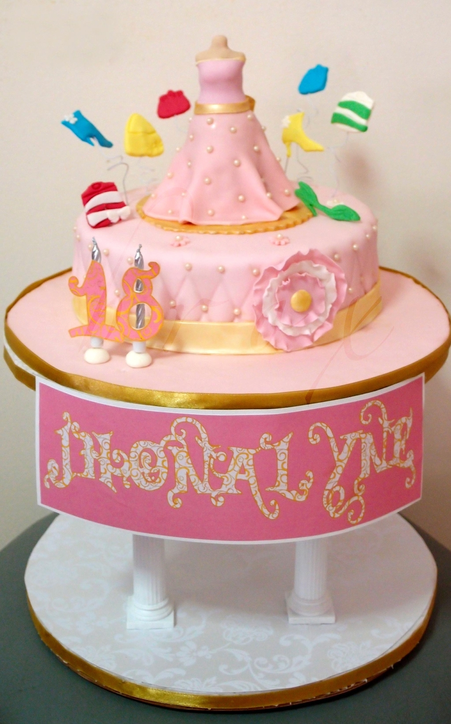 Fashionista's 18Th Birthday on Cake Central