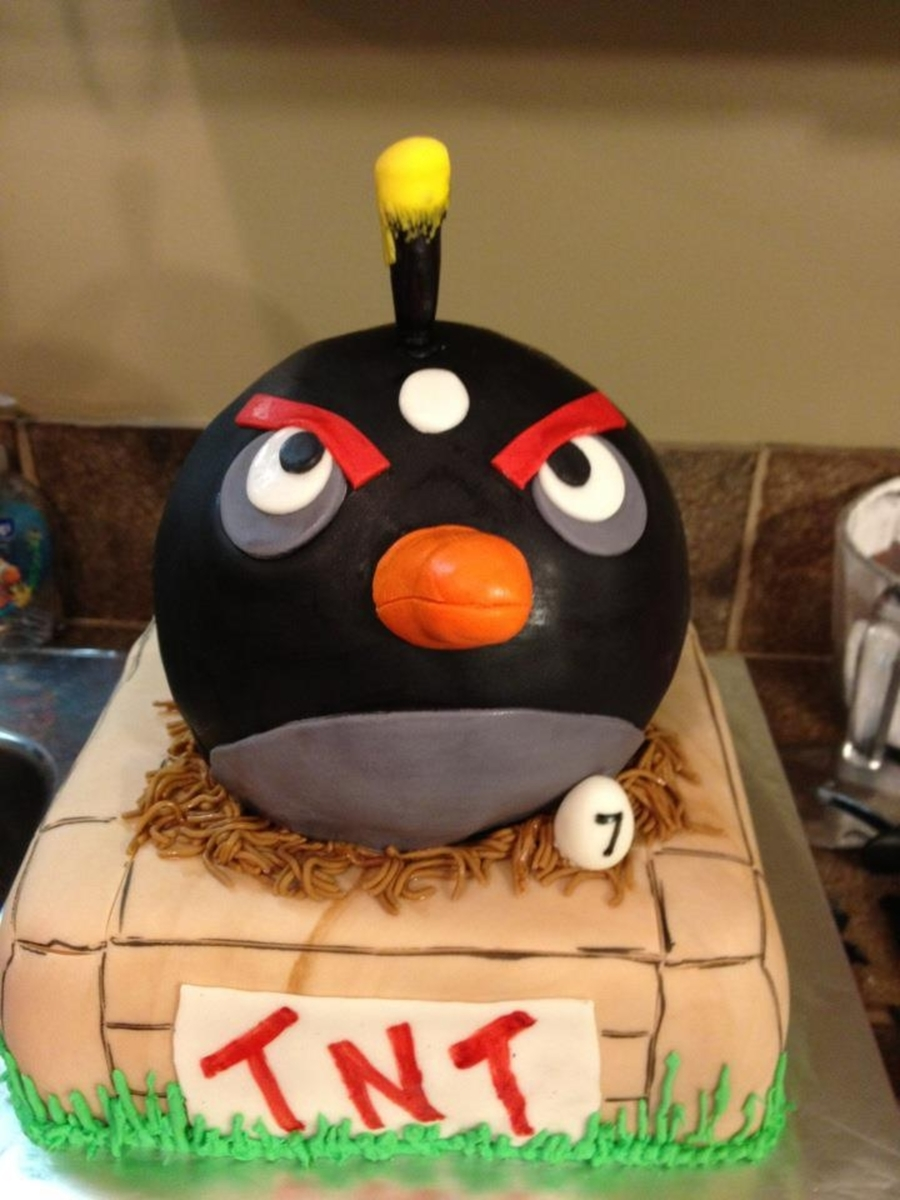 Angry Birds 7Th Birthday Cake on Cake Central