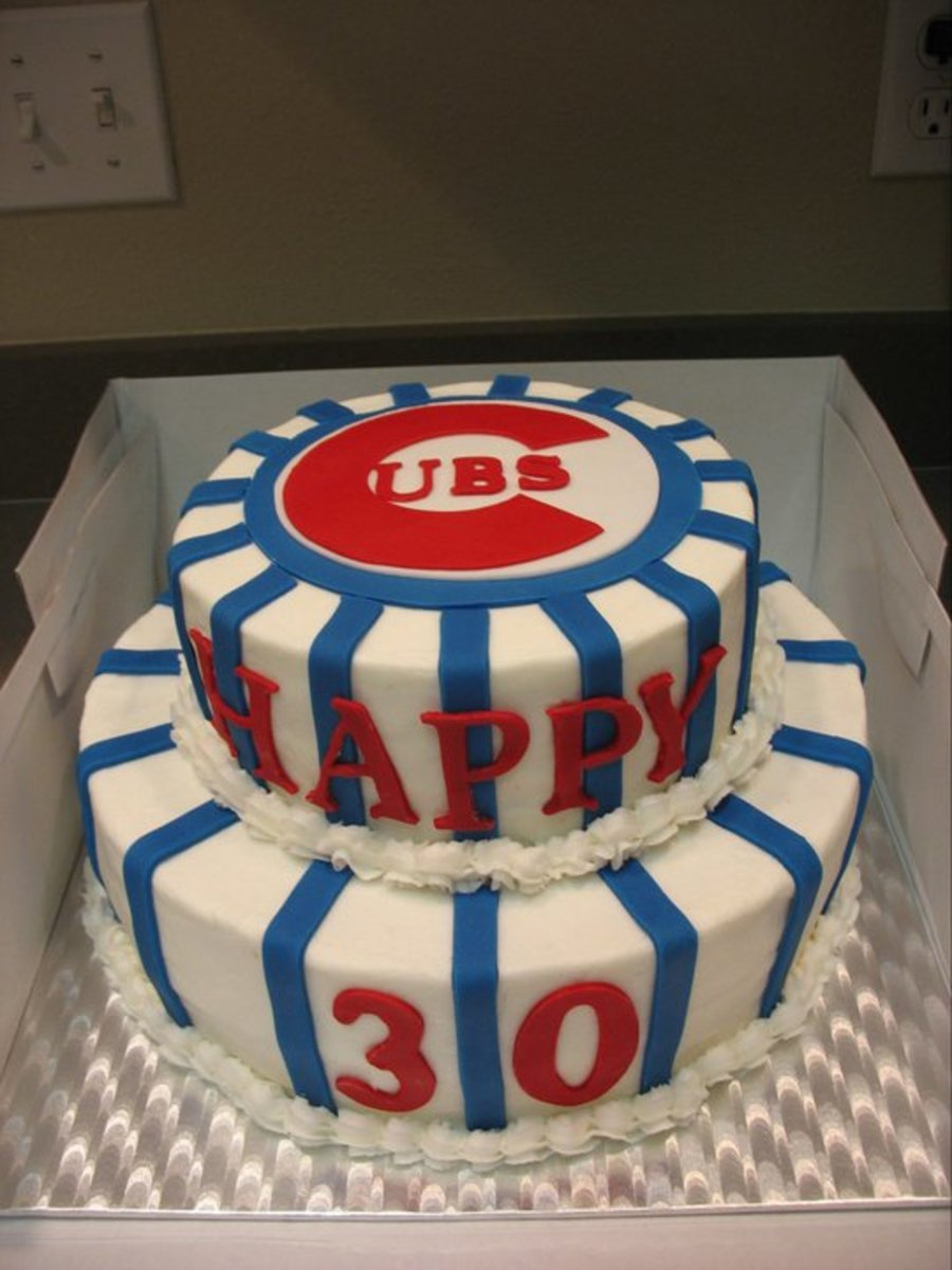 Cubs Cake on Cake Central