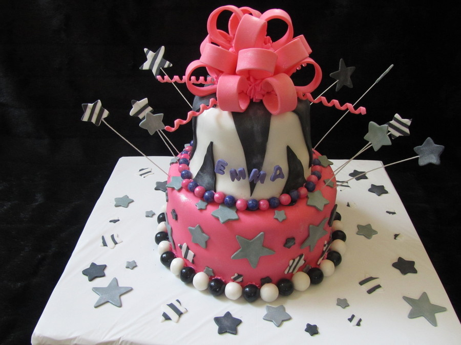 Rock Star Cake on Cake Central