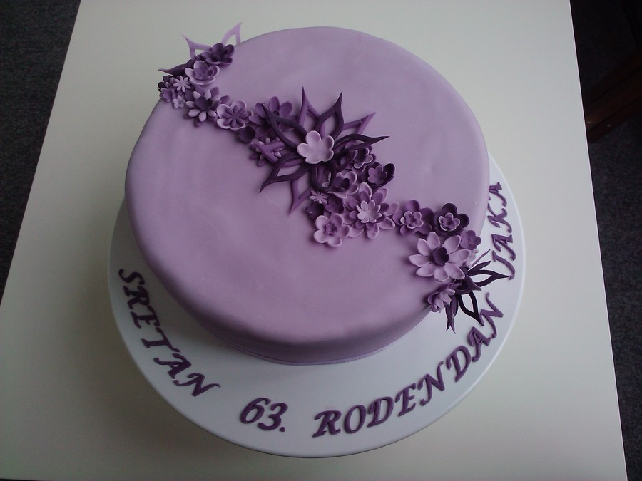 Birthday Cake For The Mom Of My Husband Cakecentral