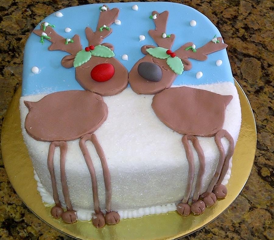 Reindeer Cake Cakecentral Com