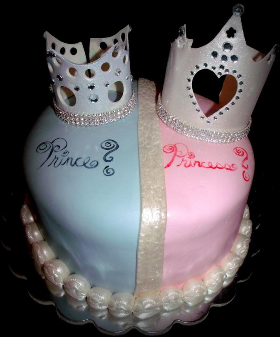 Gender Surprise Baby Shower Cake Cakecentral