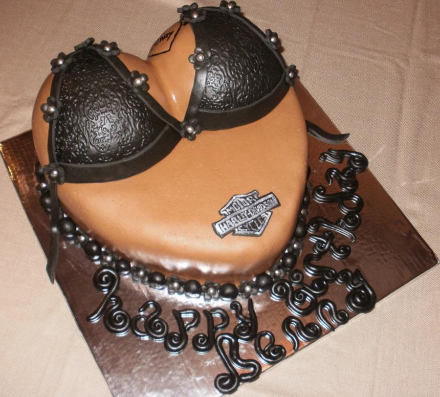Decorating A Boobie Cake