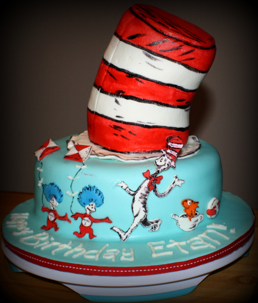 Cat In The Hat Cakecentral Com