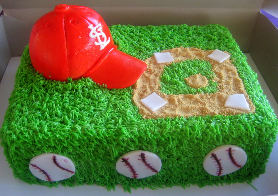 St. Louis Cardinals Groom's Cake on Cake Central