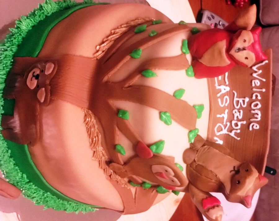 Forest Animals on Cake Central