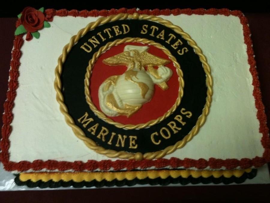 Marine Corps 236Th Birthday Cake - CakeCentral.com