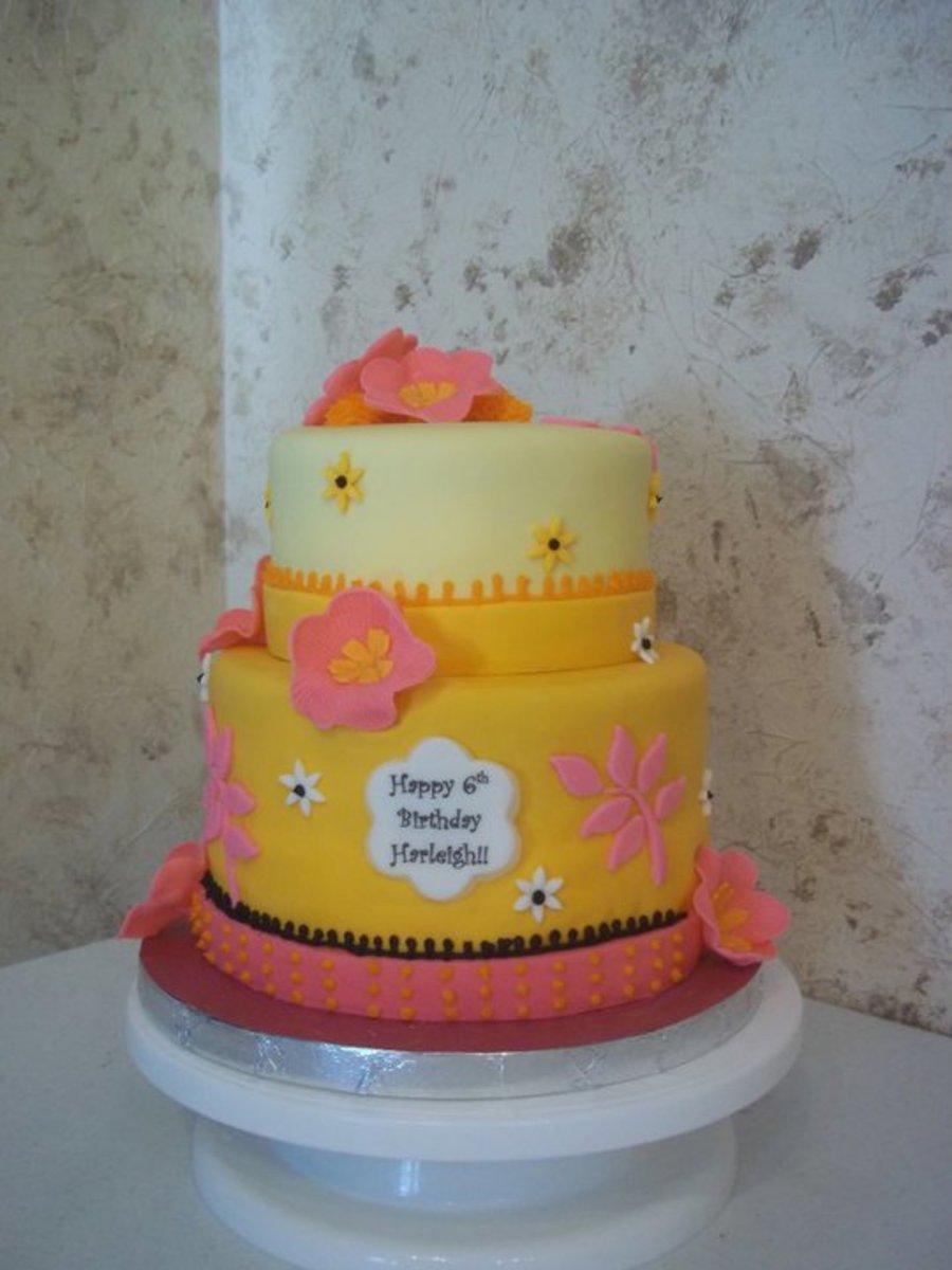 Awesome Luau Birthday Cake Cakecentral Com Funny Birthday Cards Online Inifodamsfinfo