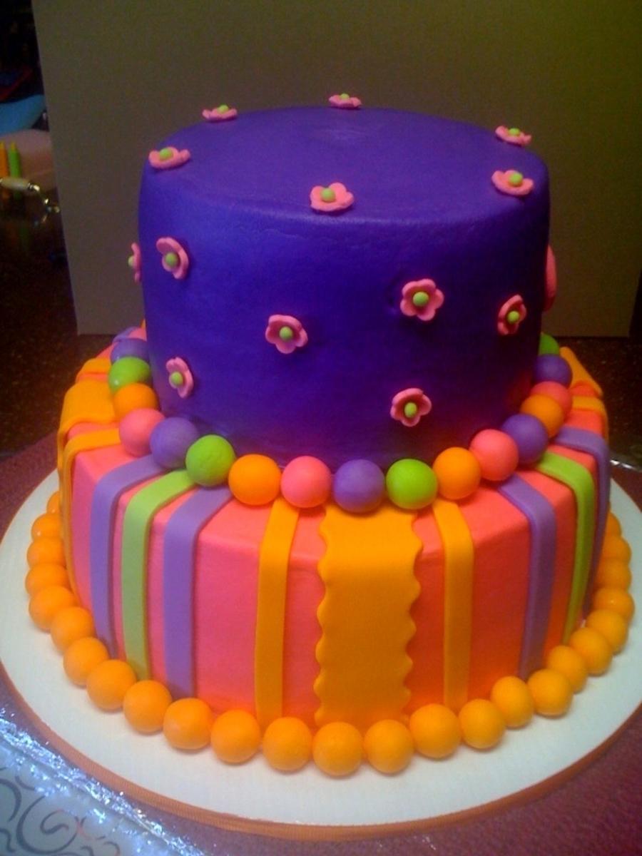 Alaina s Birthday Cake CakeCentral