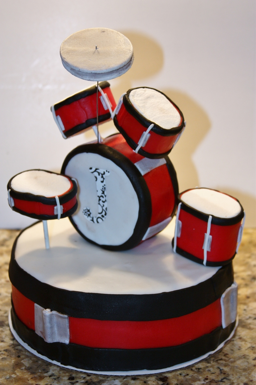 Drum Birthday Cake
