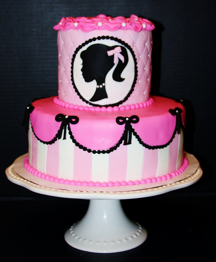 Vintage Barbie Cake Ideas