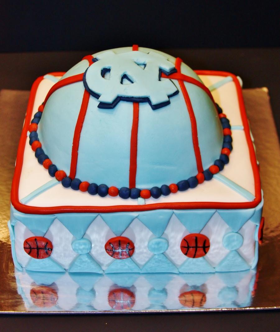 Unc Basketball Cake CakeCentralcom