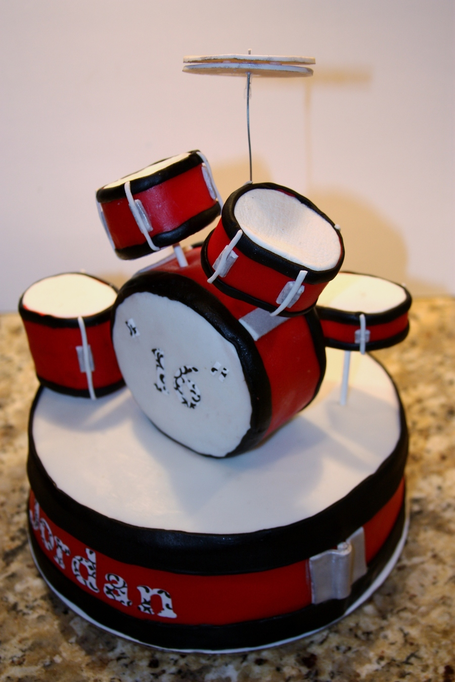 Drum Birthday Cake Cakecentral Com