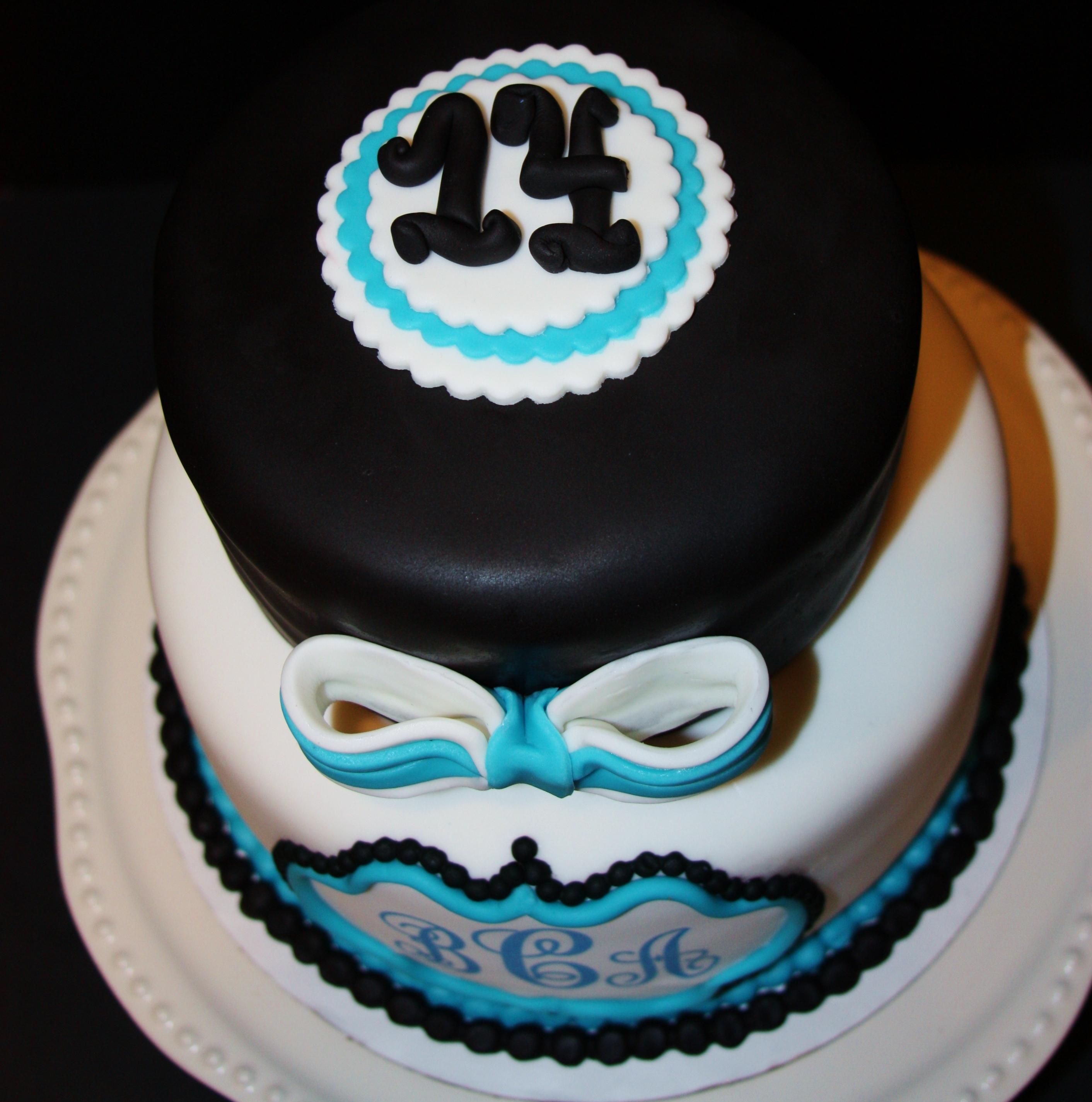 Amazing Monogram Birthday Cake Cakecentral Com Funny Birthday Cards Online Necthendildamsfinfo