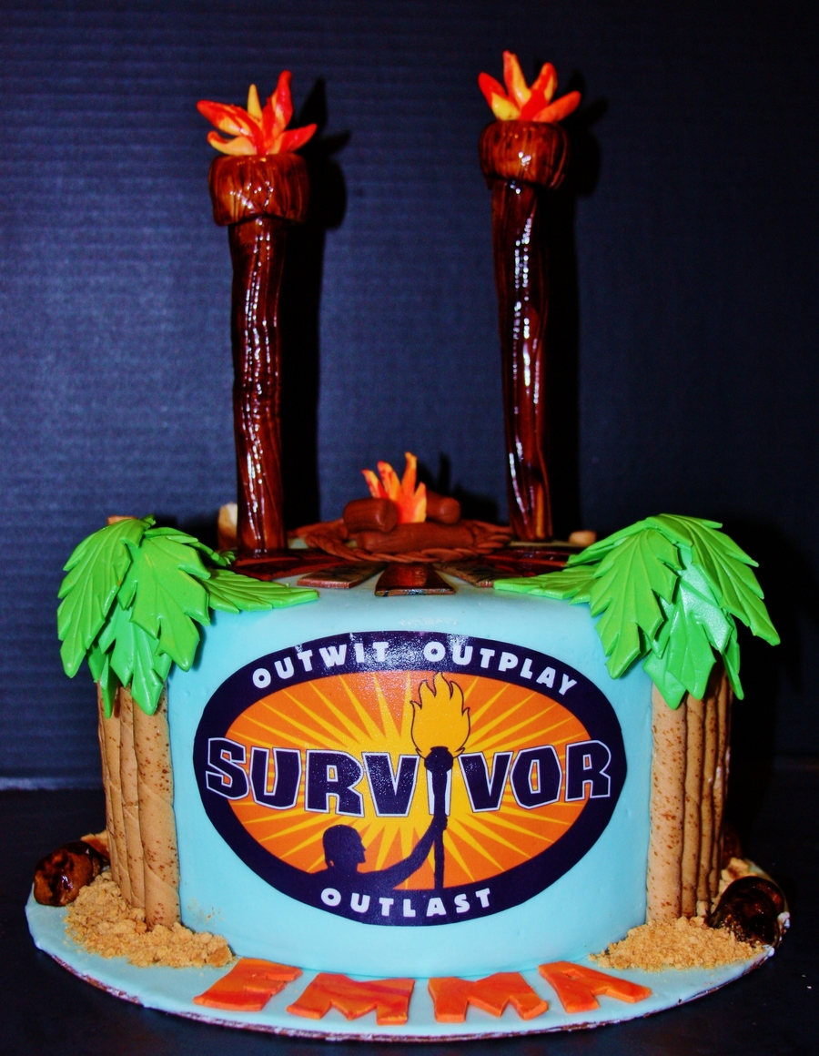 Survivor themed birthday party for Home decor survivor 5