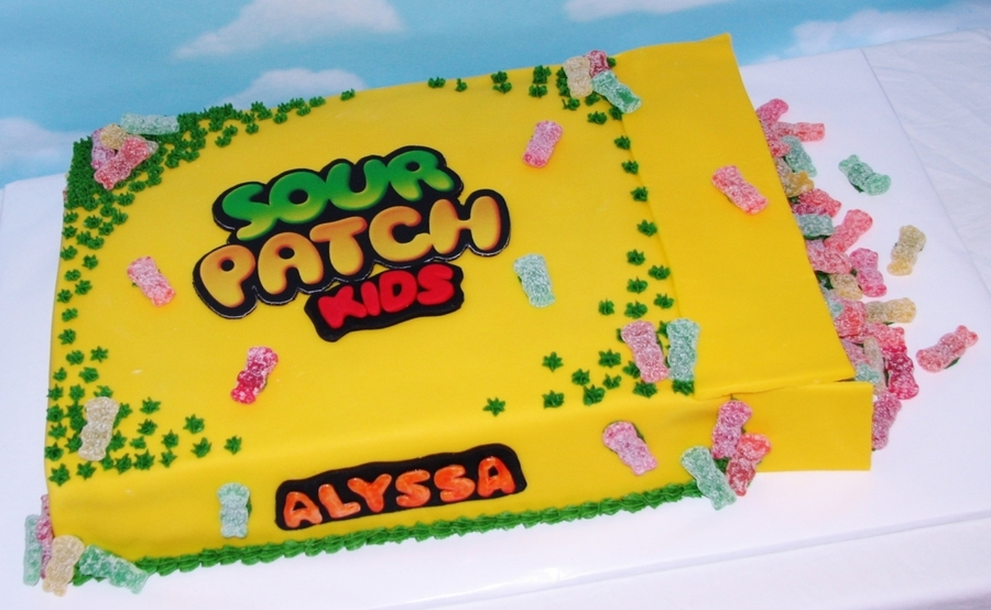 Sour Patch Kids Cake on Cake Central