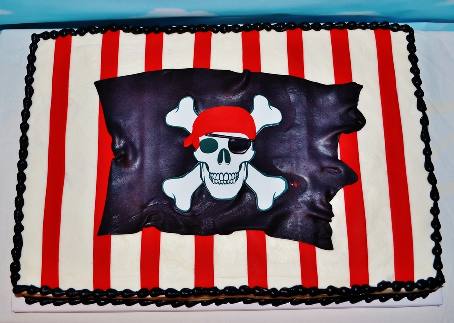 Pirate Birthday on Cake Central