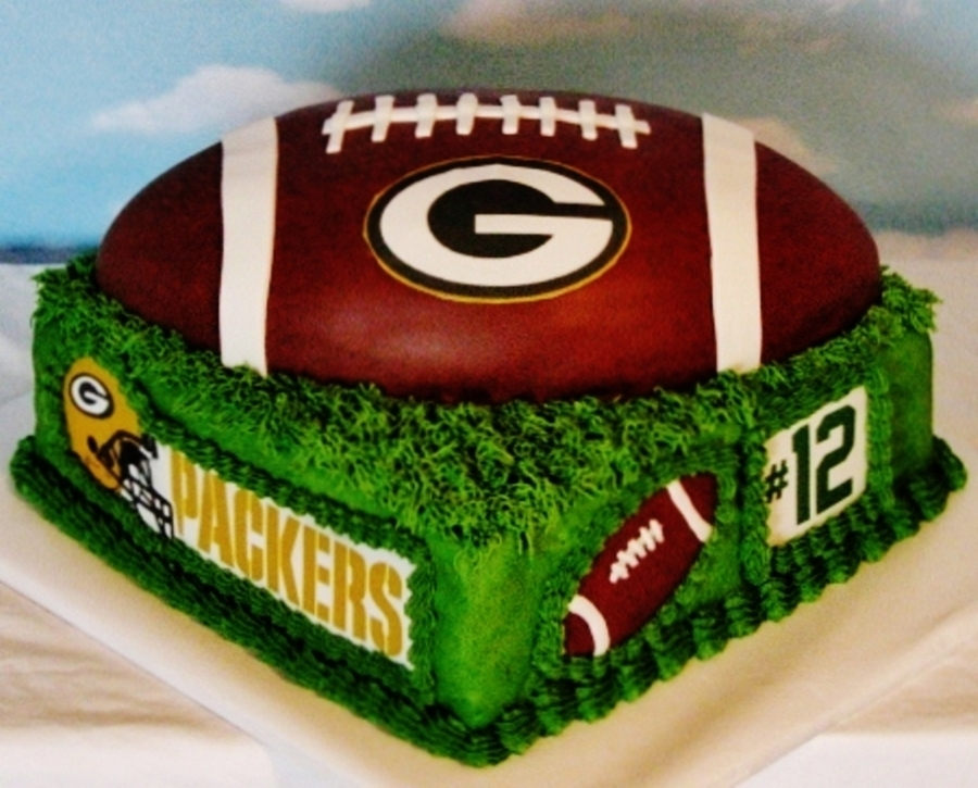 Packers Wedding Cake