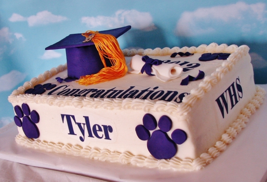 Whs Graduation Cake on Cake Central