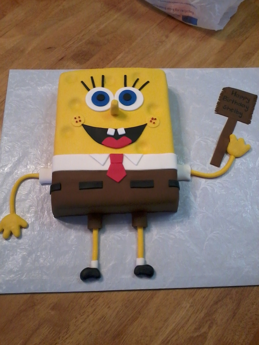 Sponge Bob Square Pants on Cake Central