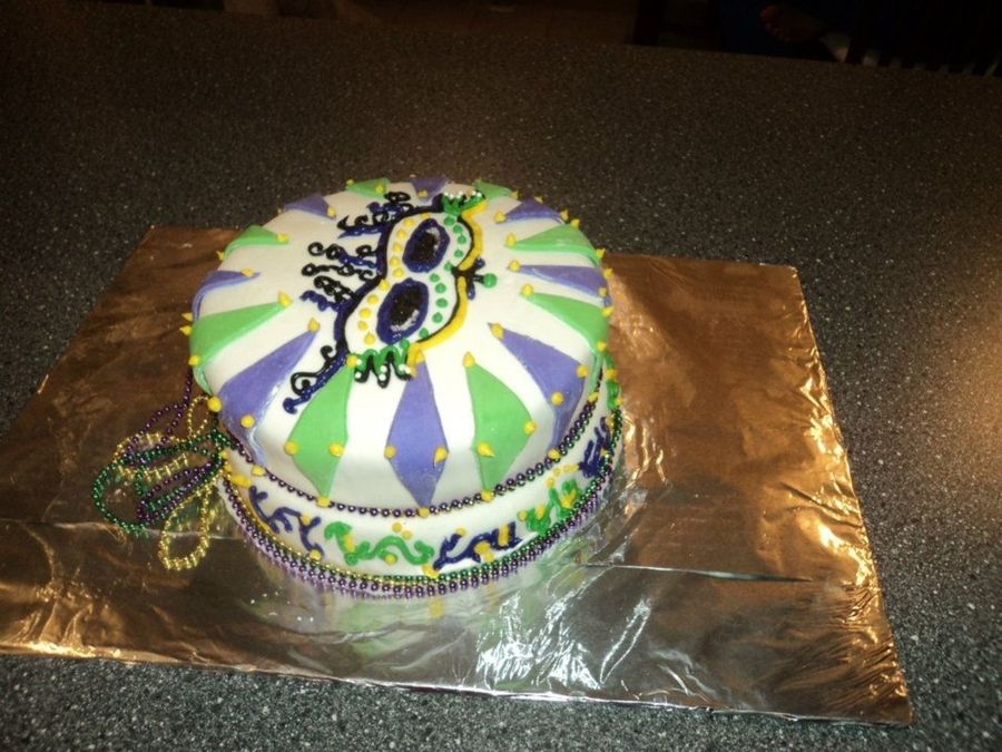 Mardis Gras on Cake Central