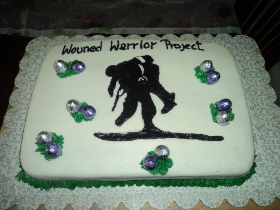 Wounded Warrior Easter Cake on Cake Central