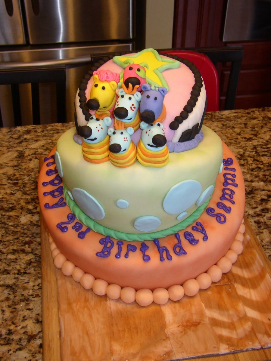 Jack S Big Music Show Topsy Turvy Cake Cakecentral Com