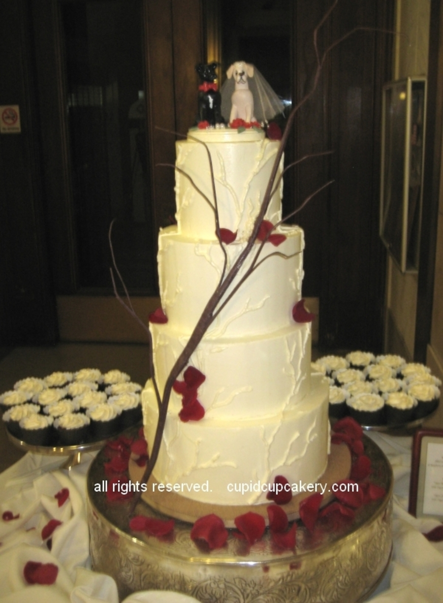 Tree Branch Wedding Cake  on Cake Central