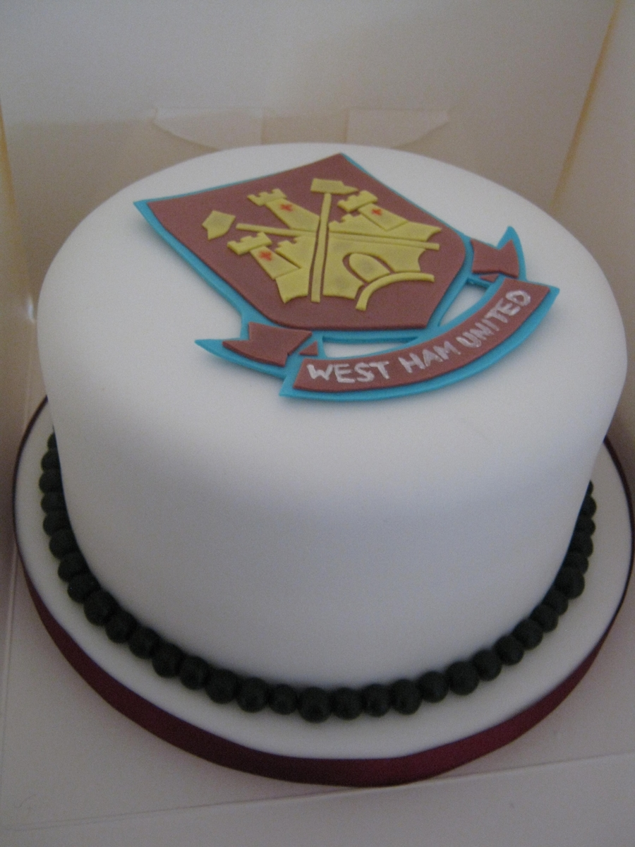 West Ham United Football Club Cake on Cake Central