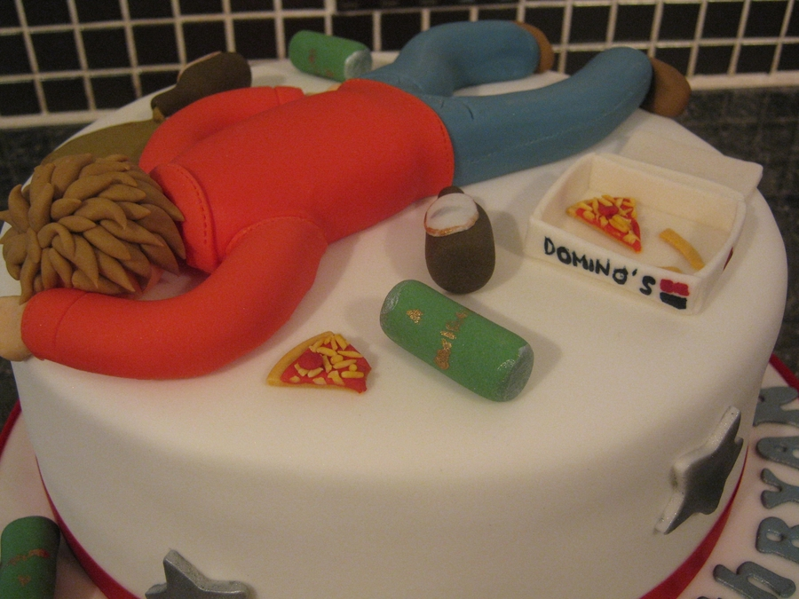 Th Birthday Cake For Guys