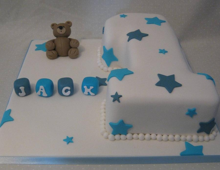 Baby Boy Number 1 Cake Cakecentral Com