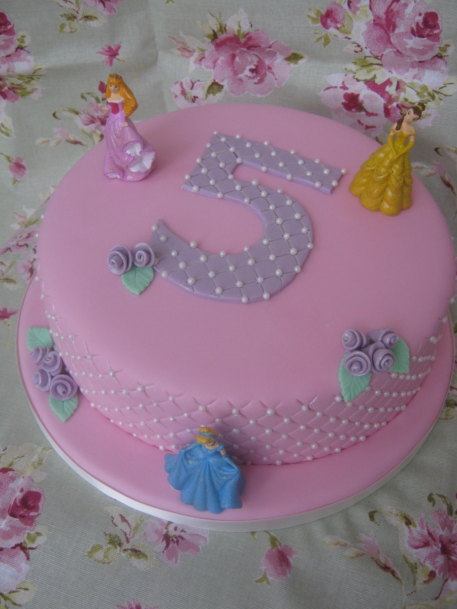 Pink Disney Princess Cake on Cake Central