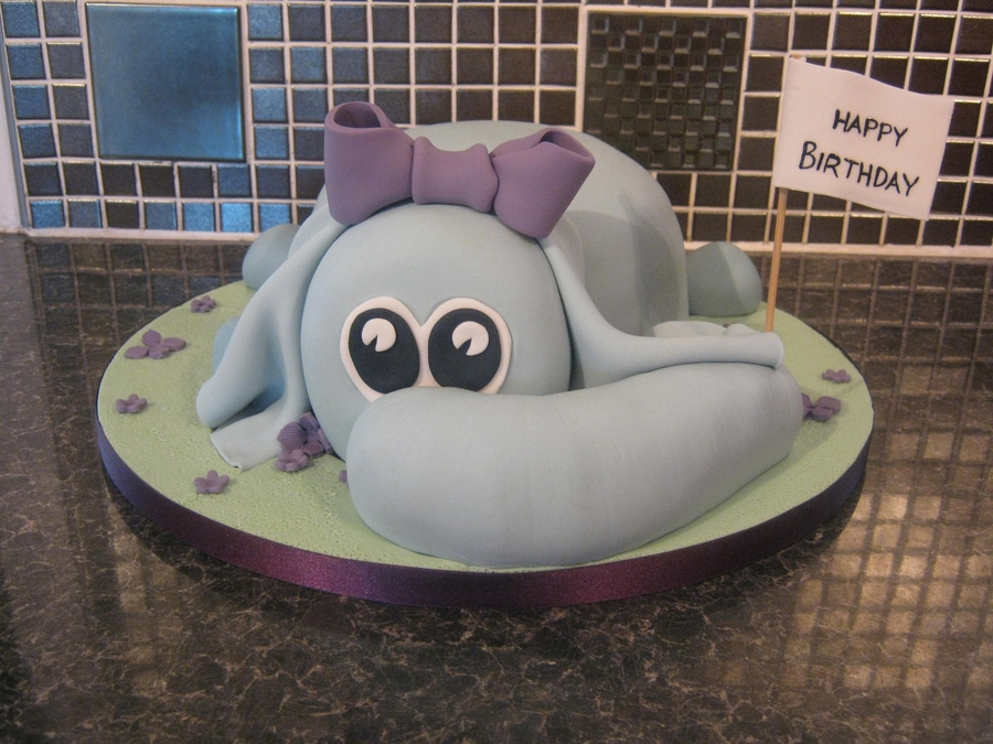 Carved Elephant Cake on Cake Central