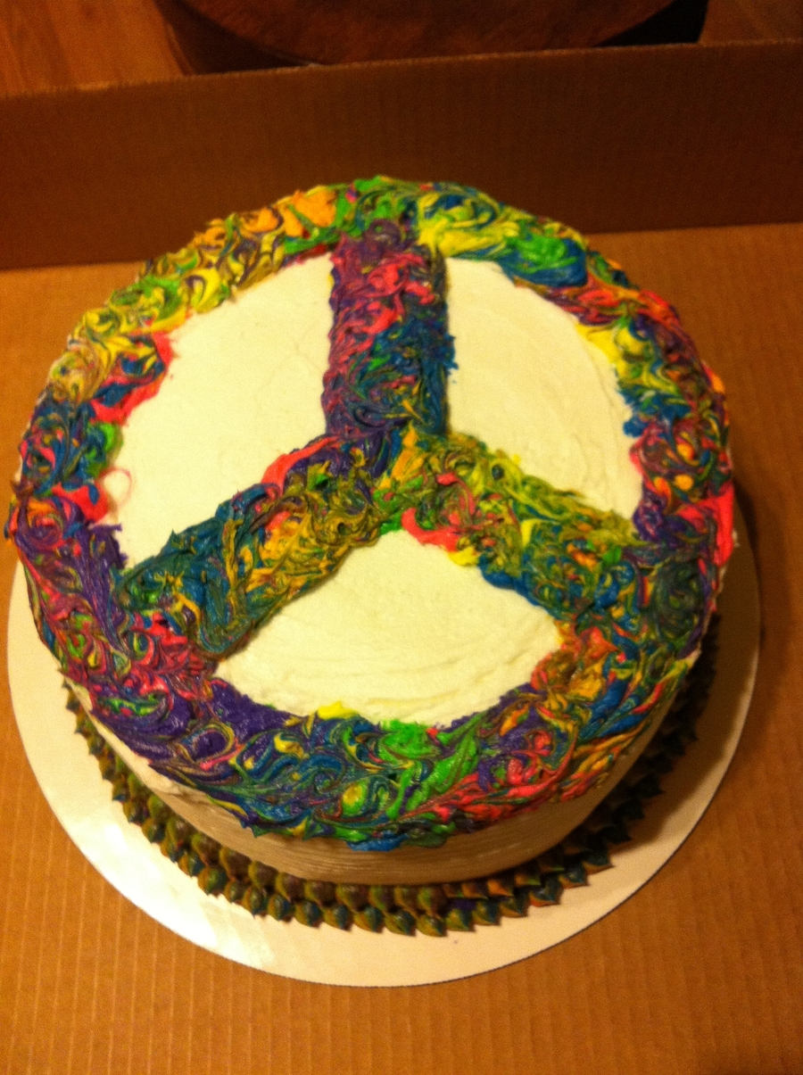 Peace on Cake Central