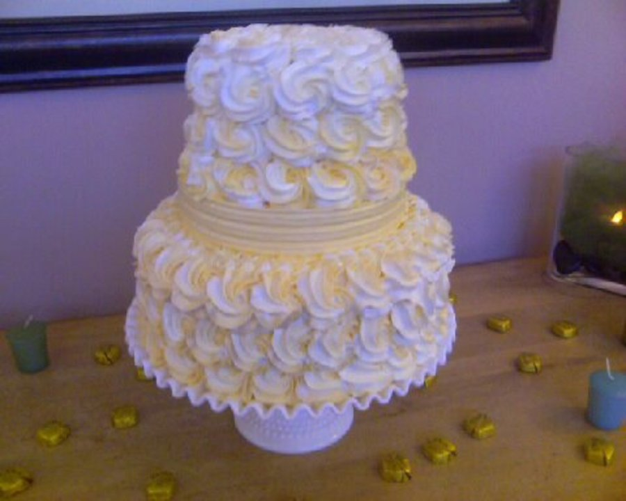 Yellow Rose Buttercream on Cake Central