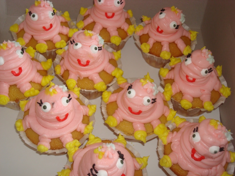 Octopus Cupcakes on Cake Central