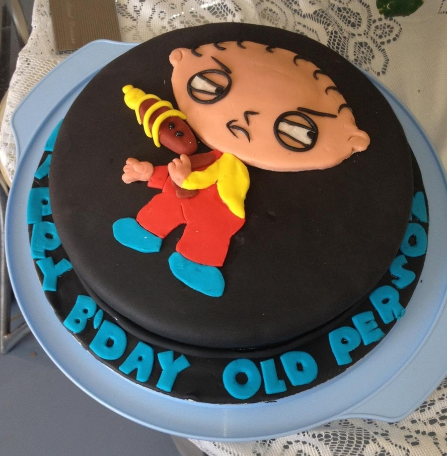 Peachy Family Guy Cakecentral Com Funny Birthday Cards Online Alyptdamsfinfo