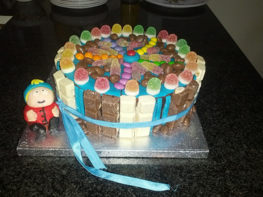 Cartman Sugarholic Cake!  on Cake Central