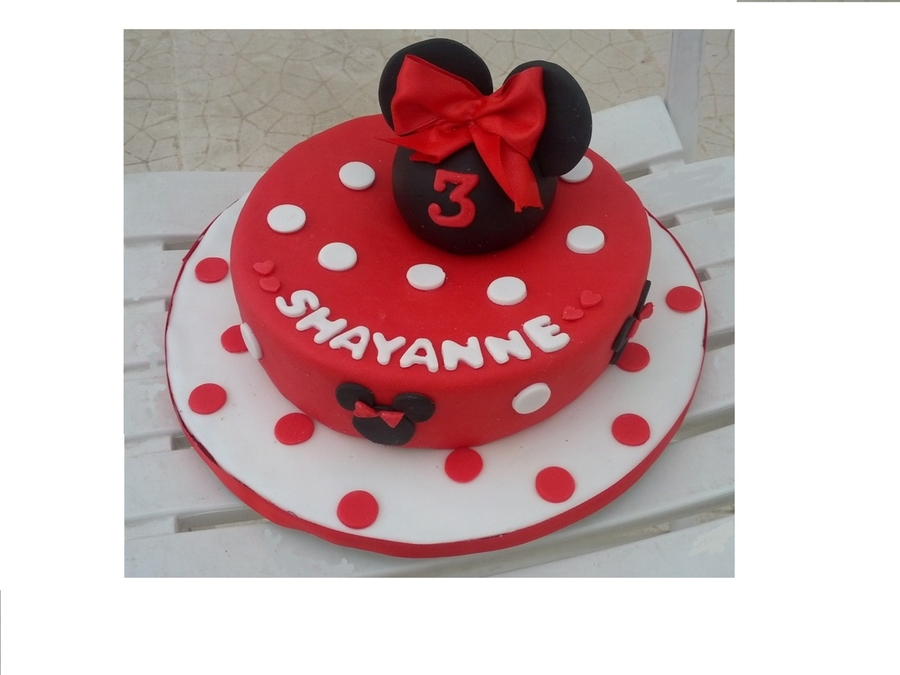 Minnie Cake on Cake Central