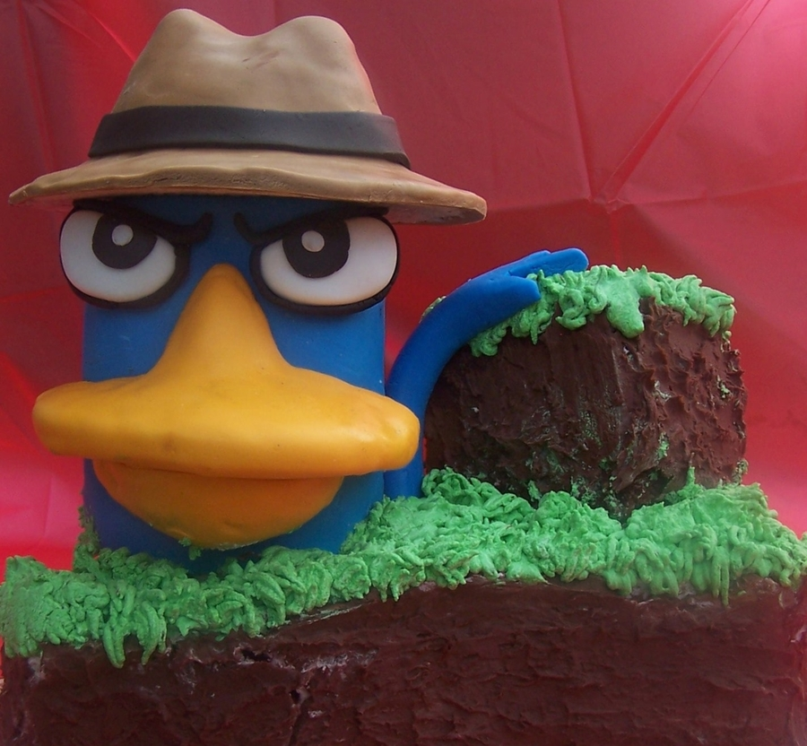 Perry The Platypus on Cake Central