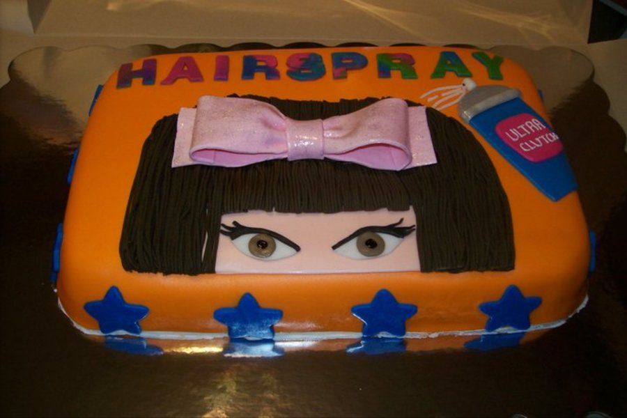 Hairspray on Cake Central