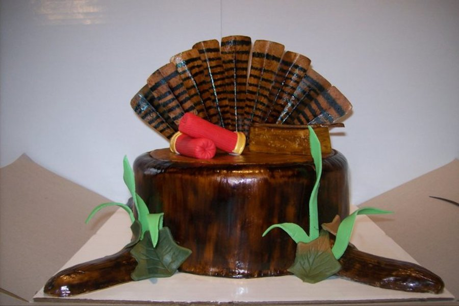 Turkey Hunting Cake on Cake Central