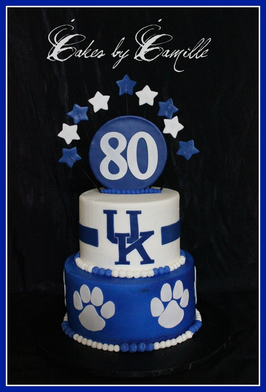 University Of Kentucky Uk Birthday Cake Cakecentral