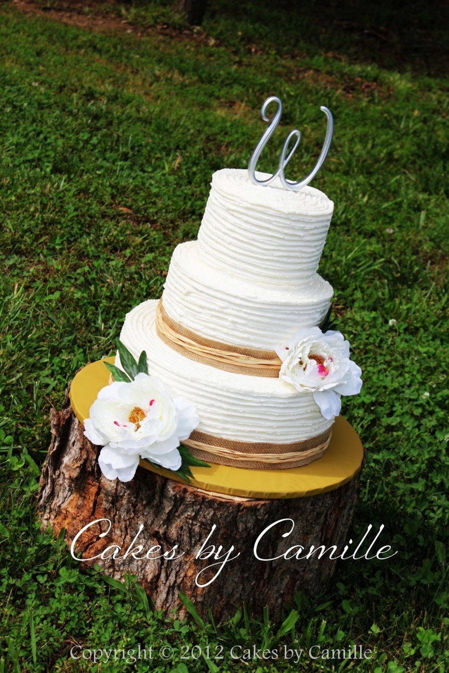 Vintage Rustic Themed Wedding on Cake Central