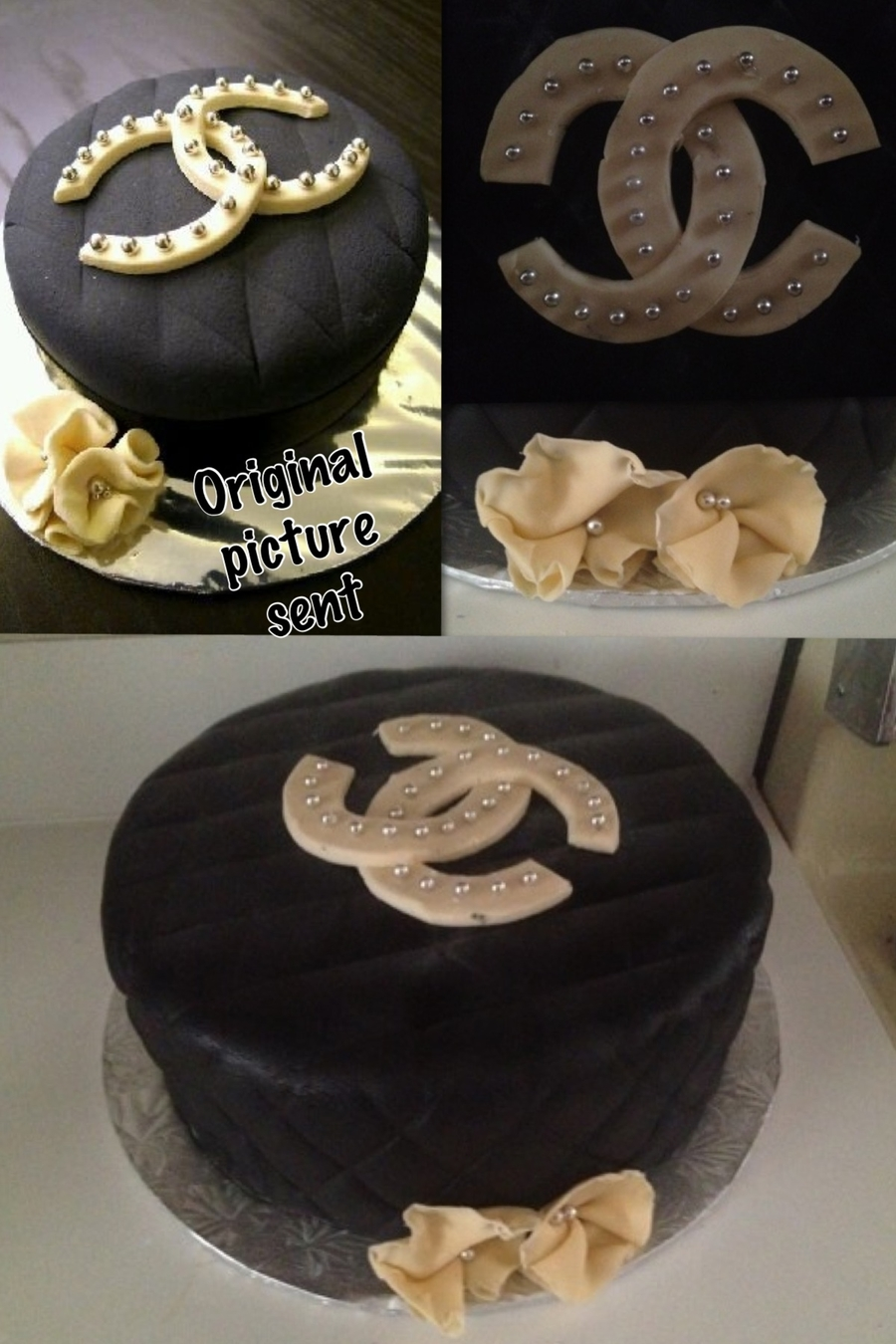 Chanel on Cake Central